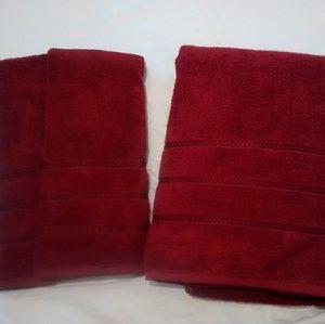 Aprima Bath Towel Hand Towel Bath Mat Set